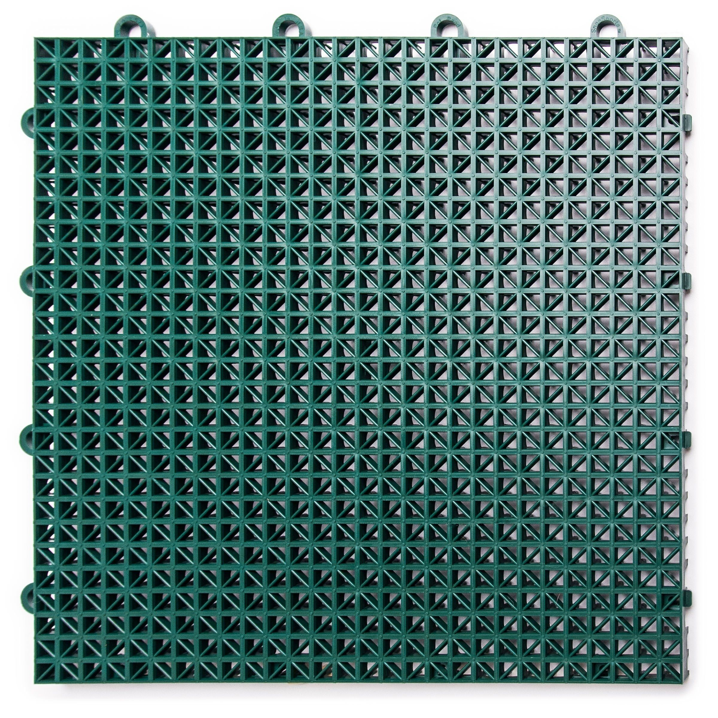 Duragrid Interlocking Deck Tile 40 Pack Evergreen Green