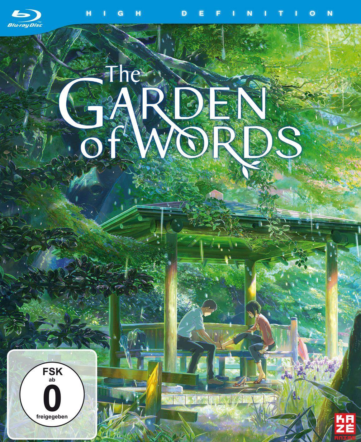 The Garden Of Words Limited Edition Blu Ray Alemania Limited Words Garden Edi Peliculas De Animacion Jardin De Las Palabras Mejores Peliculas De Anime
