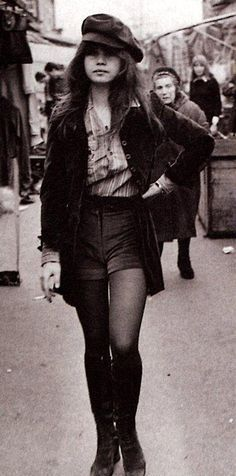 Actress Maria Schneider in the early 70s