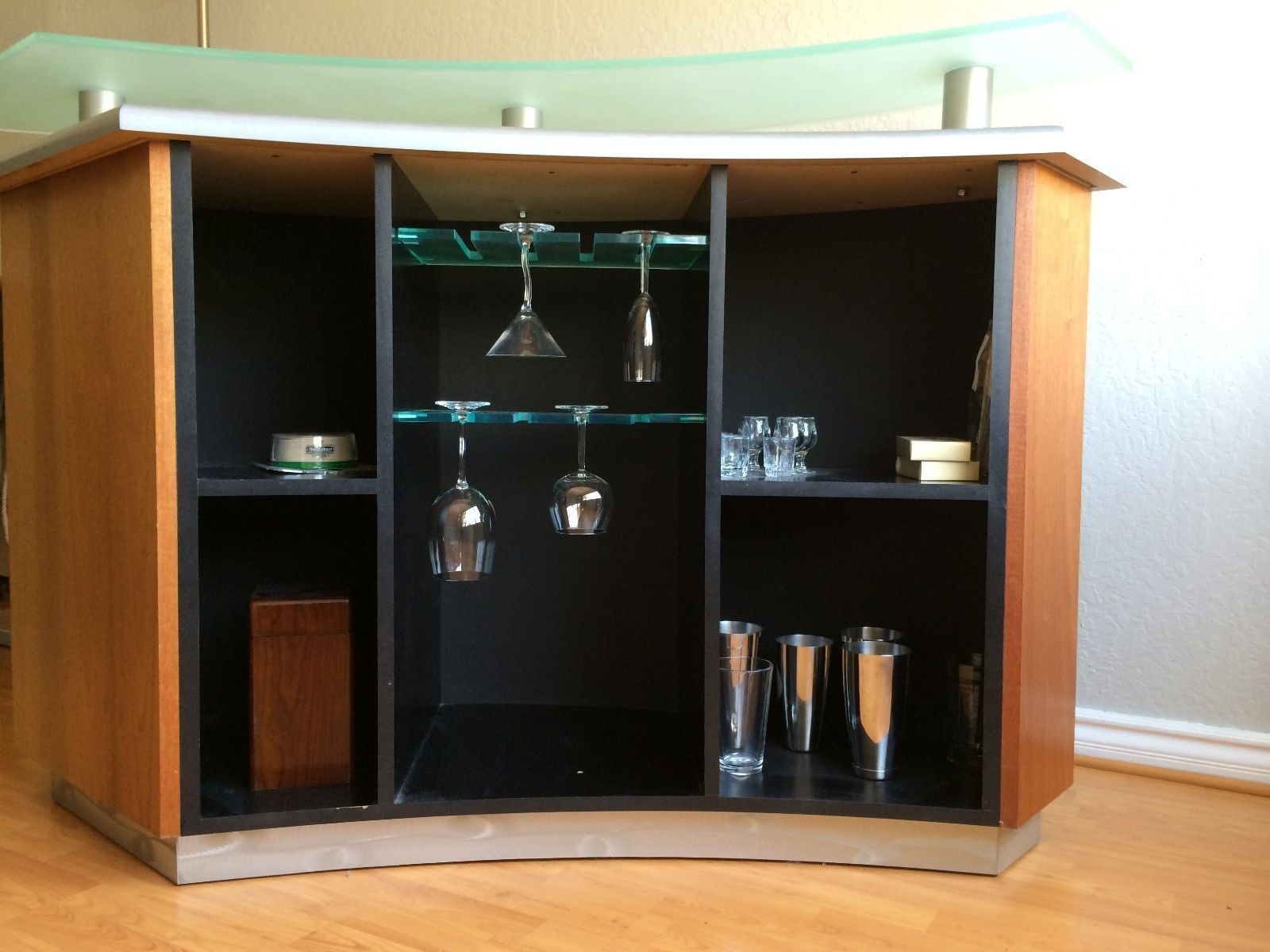 Details About Elegant Contemporary Freestanding Martini Home Bar W