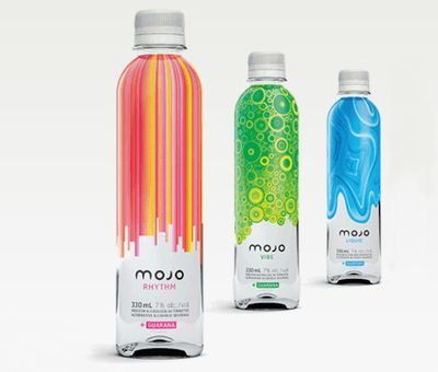 Mojo bottle design and bottle for Decor drink bottle