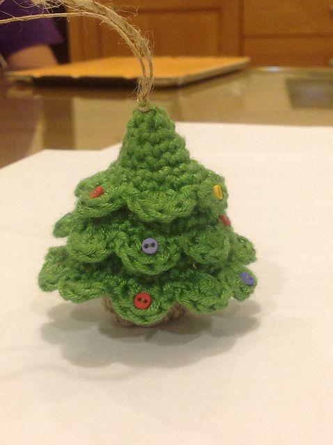 ravelry little christmas tree pattern by iga pa czek