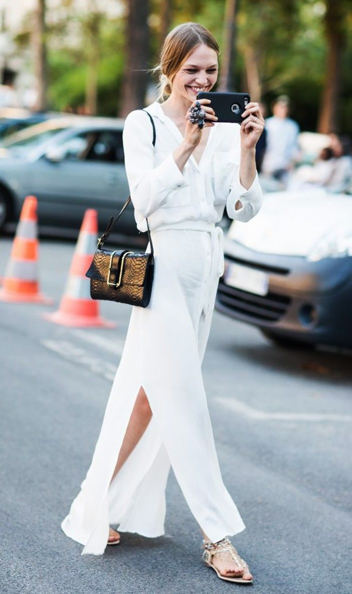 fashionable all white outfit ideas for women so nothing suits you the best except white in almost all the seasons now if you are talking about summer it s