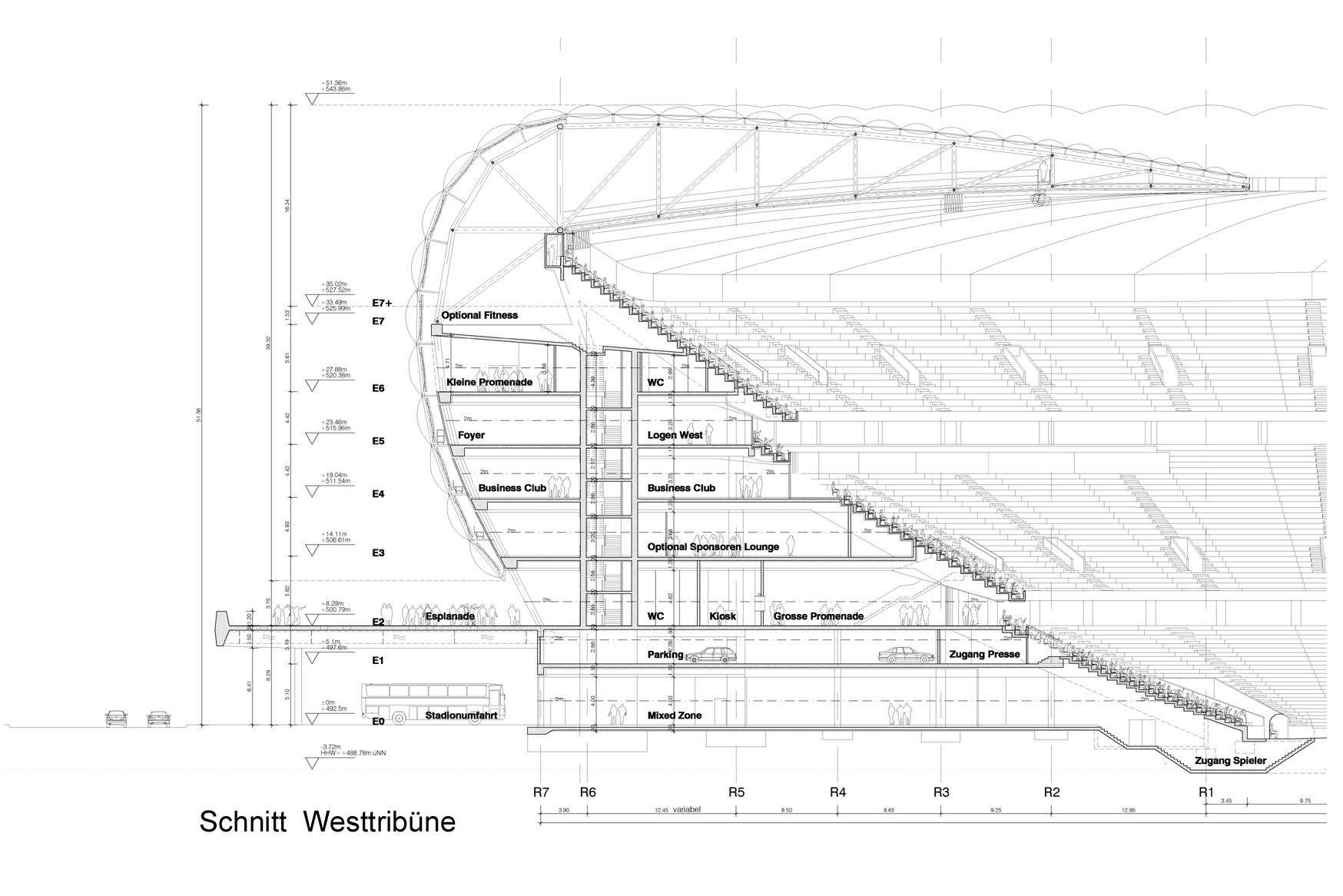 Allianz Arena Stadium Section