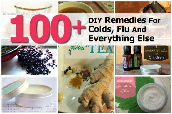 Interesting Post from our sister site Health Tips Watch: 100+ DIY Remedies For Colds, Flu And Everything Else - http://www.healthtipswatch.com/100-diy-remedies-for-colds-flu-and-everything-else.html