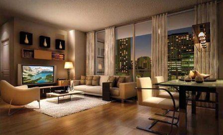 foto Desain apartemen minimalis Rumah modern