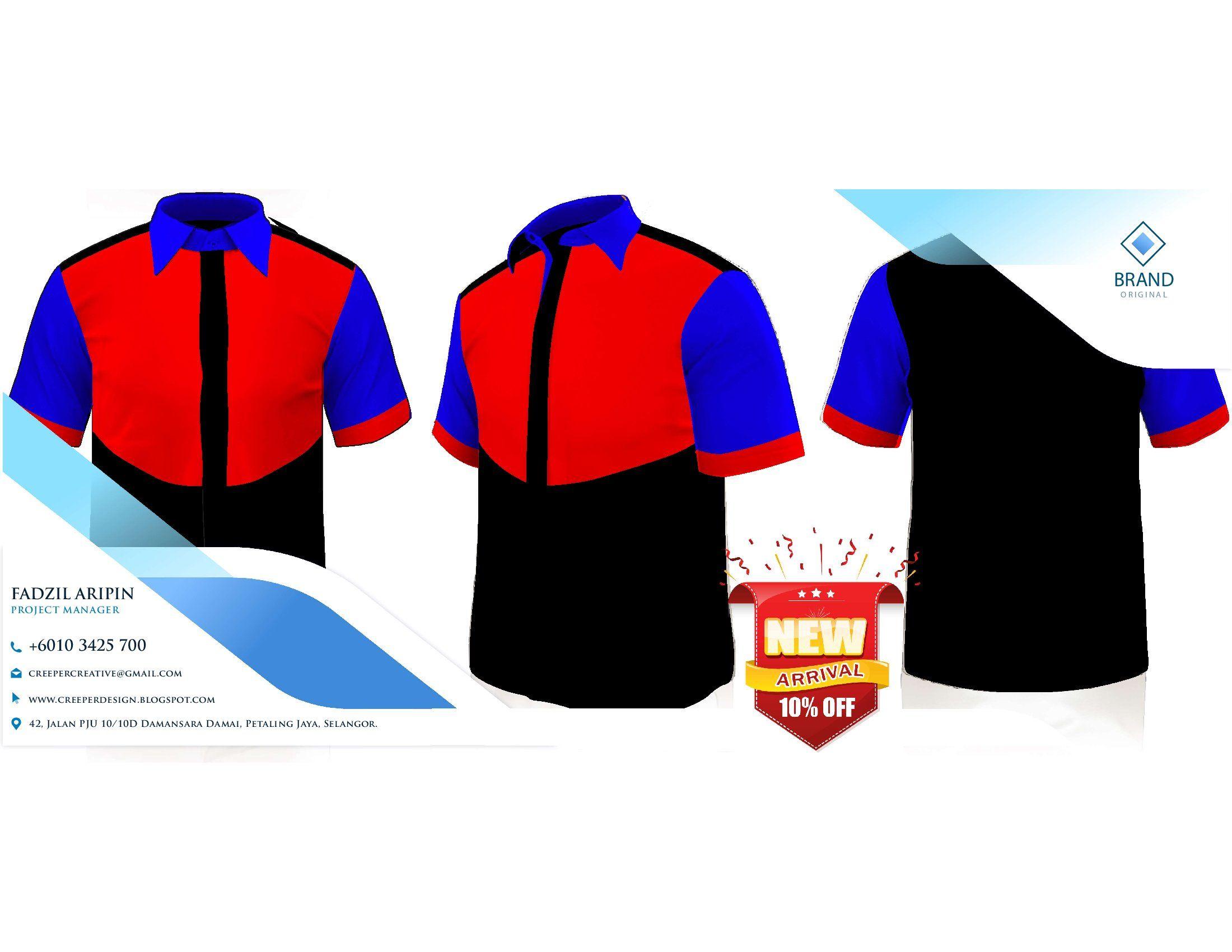 Menerima tempahan Baju Korporat uniform custom made F1 Shirt Design Baju Korporat lelaki wanita dan juga baju muslimah lengan panjang dan apa sahaja yang