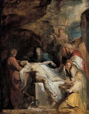 Entombment (c. 1616), Alte Pinakothek, Munich