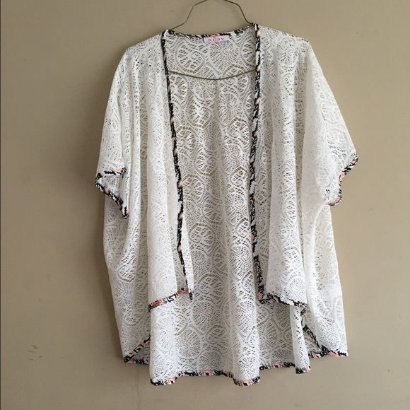 Lace Cardigan Lace cardigan. Adorable and lightweight! Sweaters ...