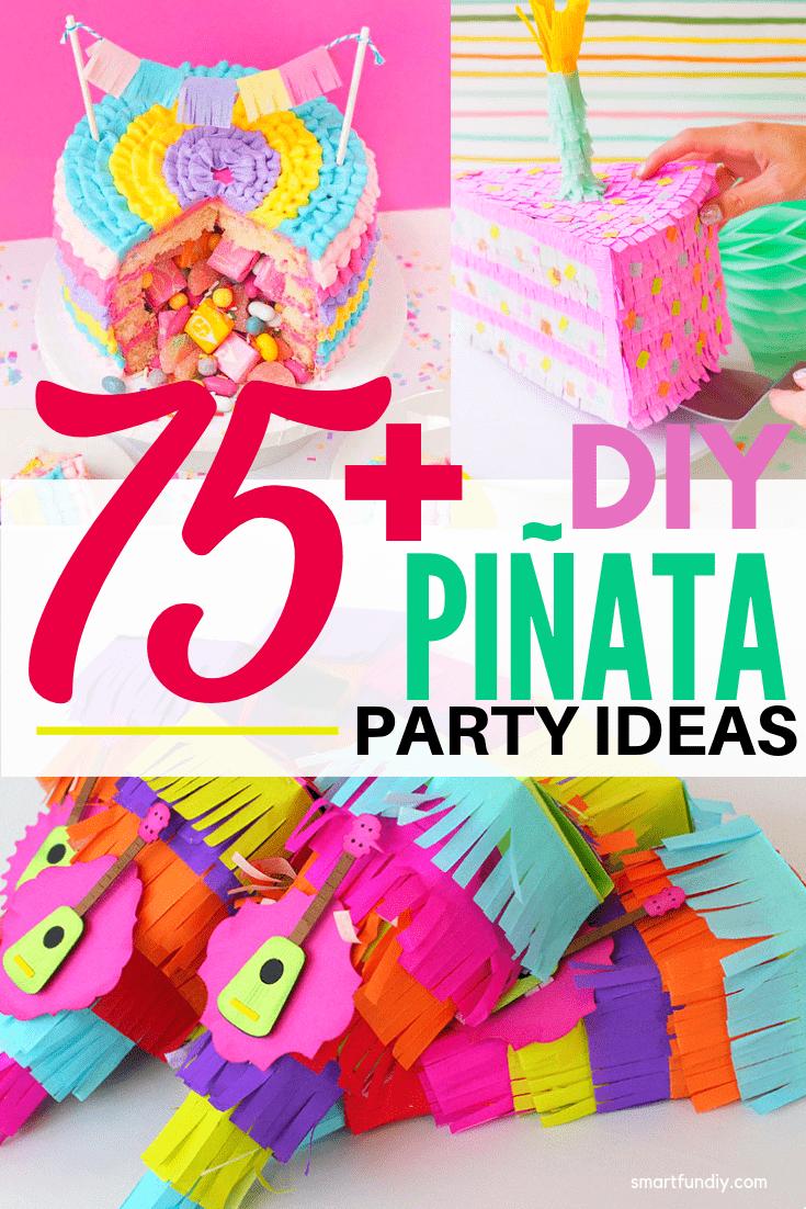 Zimmer im mexikanischen stil  super fun and creative diy piñata ideas  party ideas  party