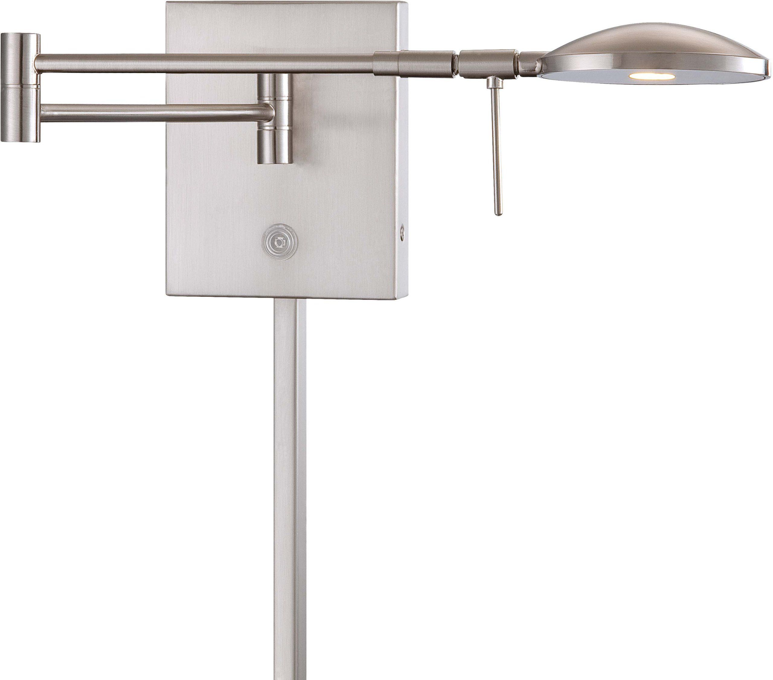 George Kovacs P4338 084, Georges Reading Room Swing Arm Wall Sconce Light  LED,