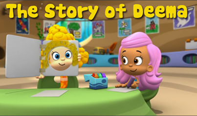 The Story Of Deema Starring Deema Bubble Guppies South Park Tv Show Bubbles