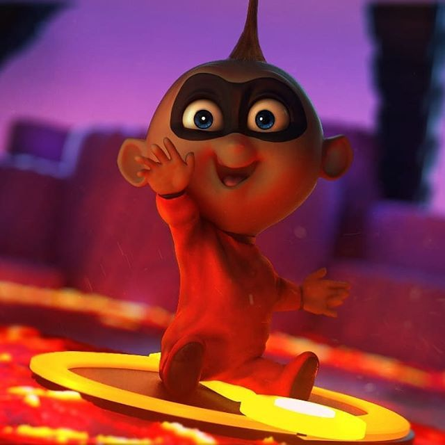 what did everyone think about the latest incredibles 2 trailer jack jack fan art by mariano tazzioli incredibles incredibles2 pixar movies film