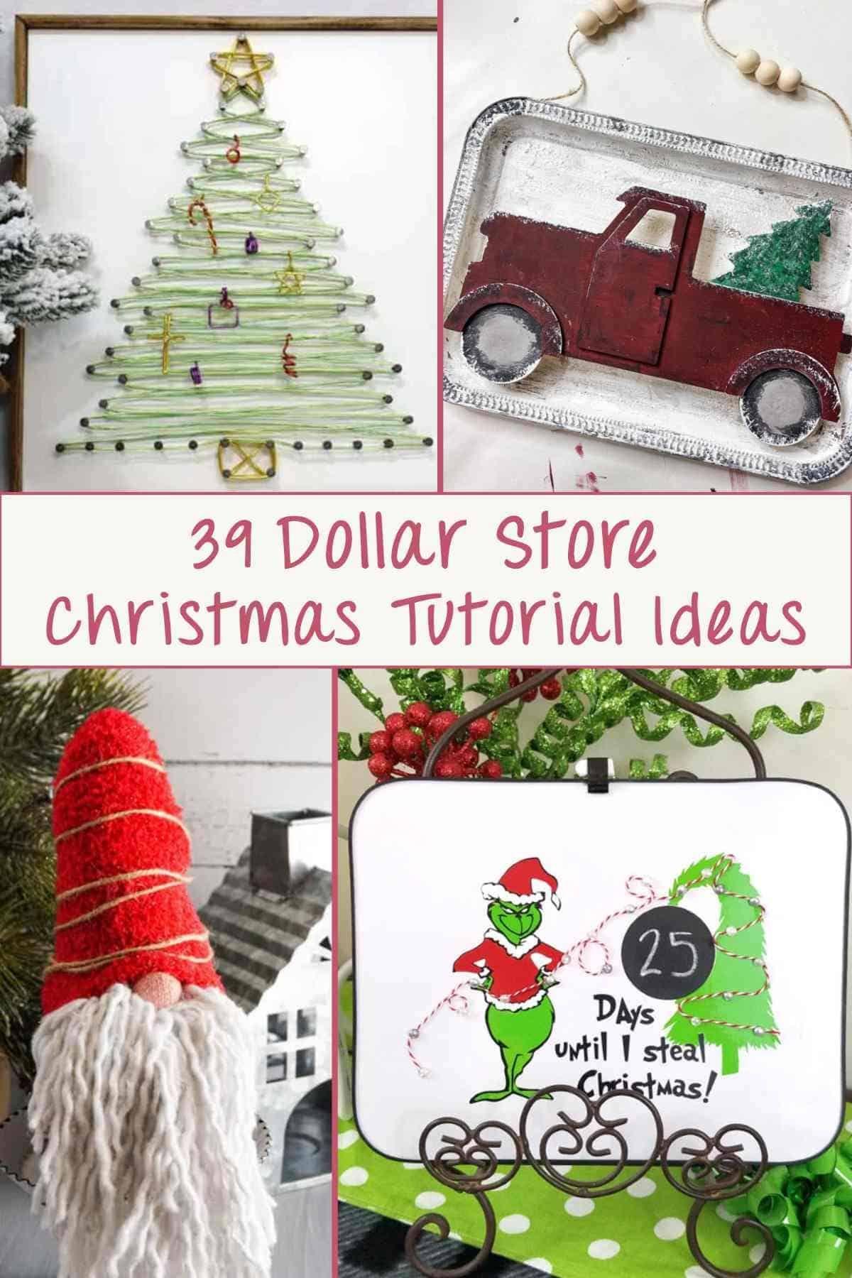39 Diy Dollar Tree Christmas Crafts Decor Artsy Pretty Plants Christmas Crafts Christmas Crafts Diy Fun Christmas Decorations