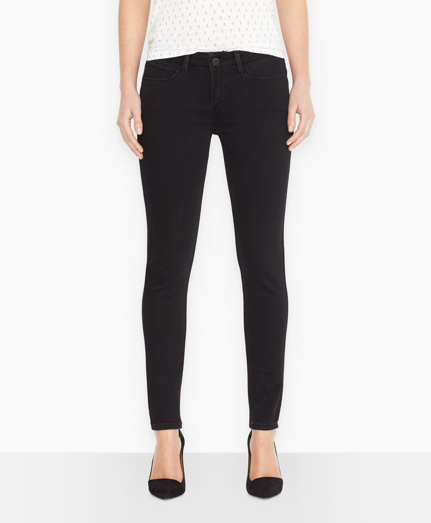 Levi's 535 jeggings black