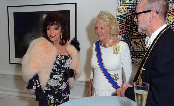 The Duchess of Cornwall Attends the Royal Academy of Arts Annual Dinner