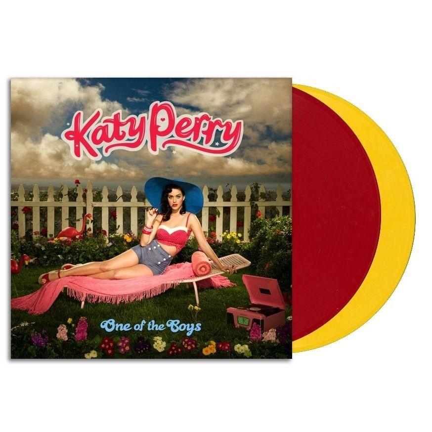 Katy Perry One Of The Boys Vinyl 2xlp Red Yellow Sealed New 2000s Katy Perry Vinyl Katy