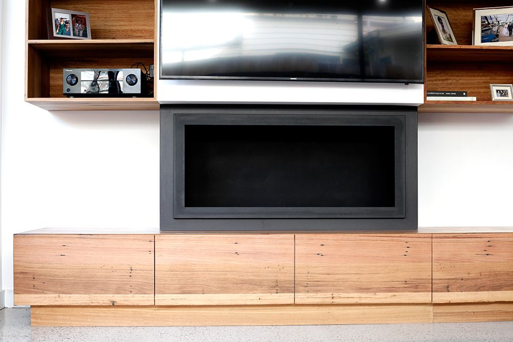 South Melbourne project | TV unit, Joinery and Timber furniture