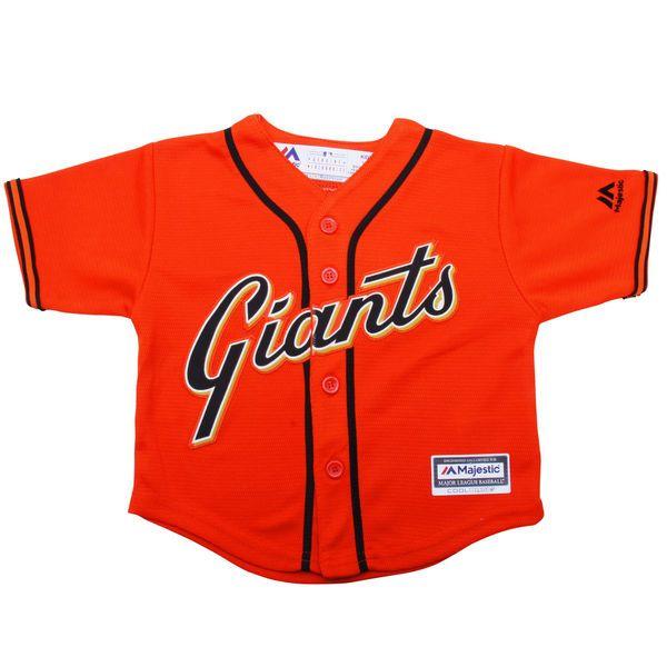 5f9cc569b San Francisco Giants Majestic Toddler Official Cool Base Jersey - Orange -   39.99