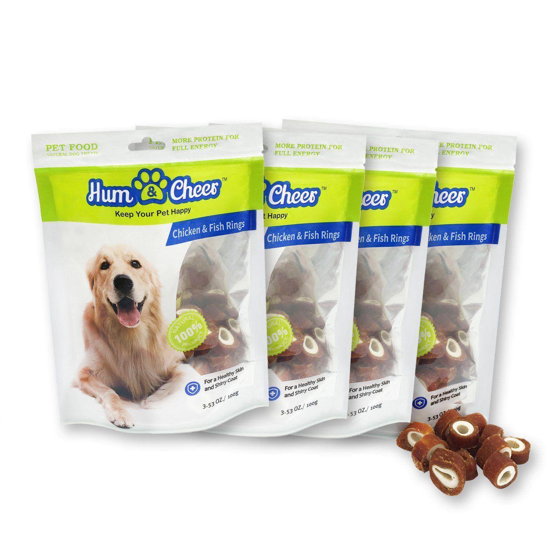 Hum cheer natural balance dog treats puppy training snacks
