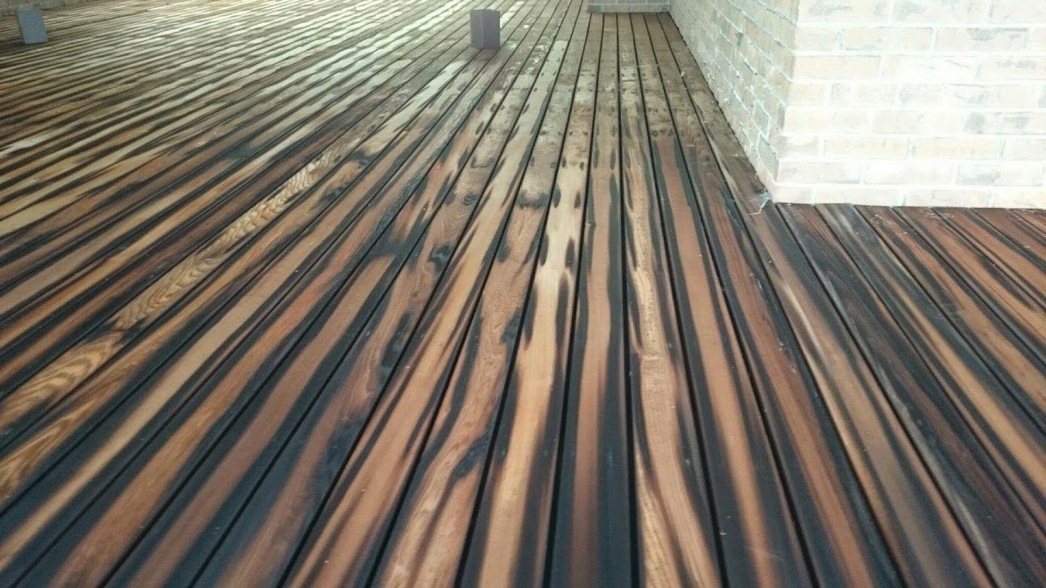 shou sugi ban drewno pinterest cedar deck decking and woodwork. Black Bedroom Furniture Sets. Home Design Ideas
