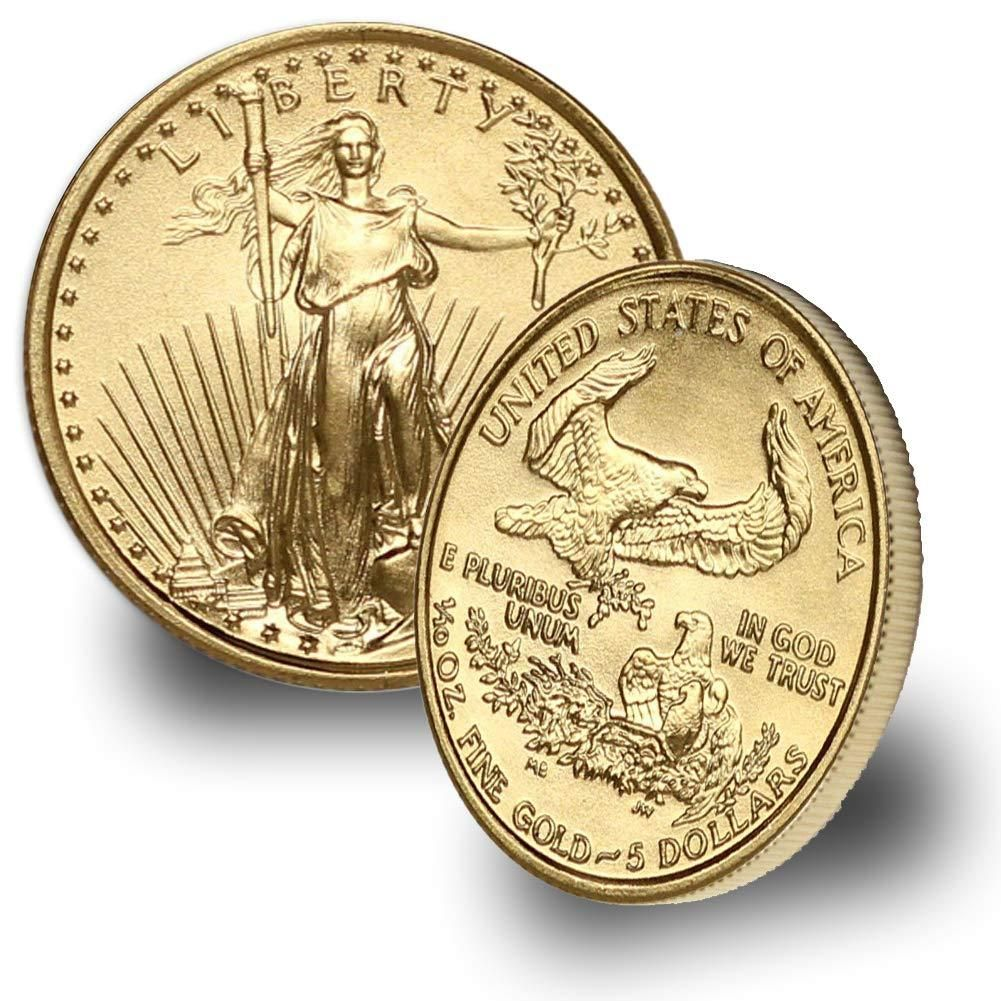 1986 Present 1 10oz American Gold Eagle Random Year 5 Brilliant Uncirculated In 2020 Gold Bullion Coins Gold Eagle Gold Bullion
