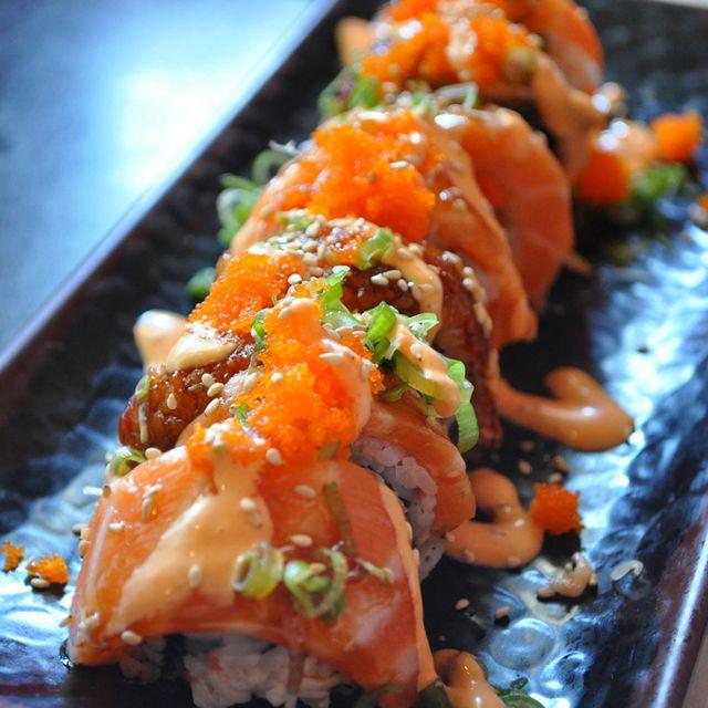 Lion King Roll, still craving sushi! | Num Nums | Sushi, Food, Sushi recipes