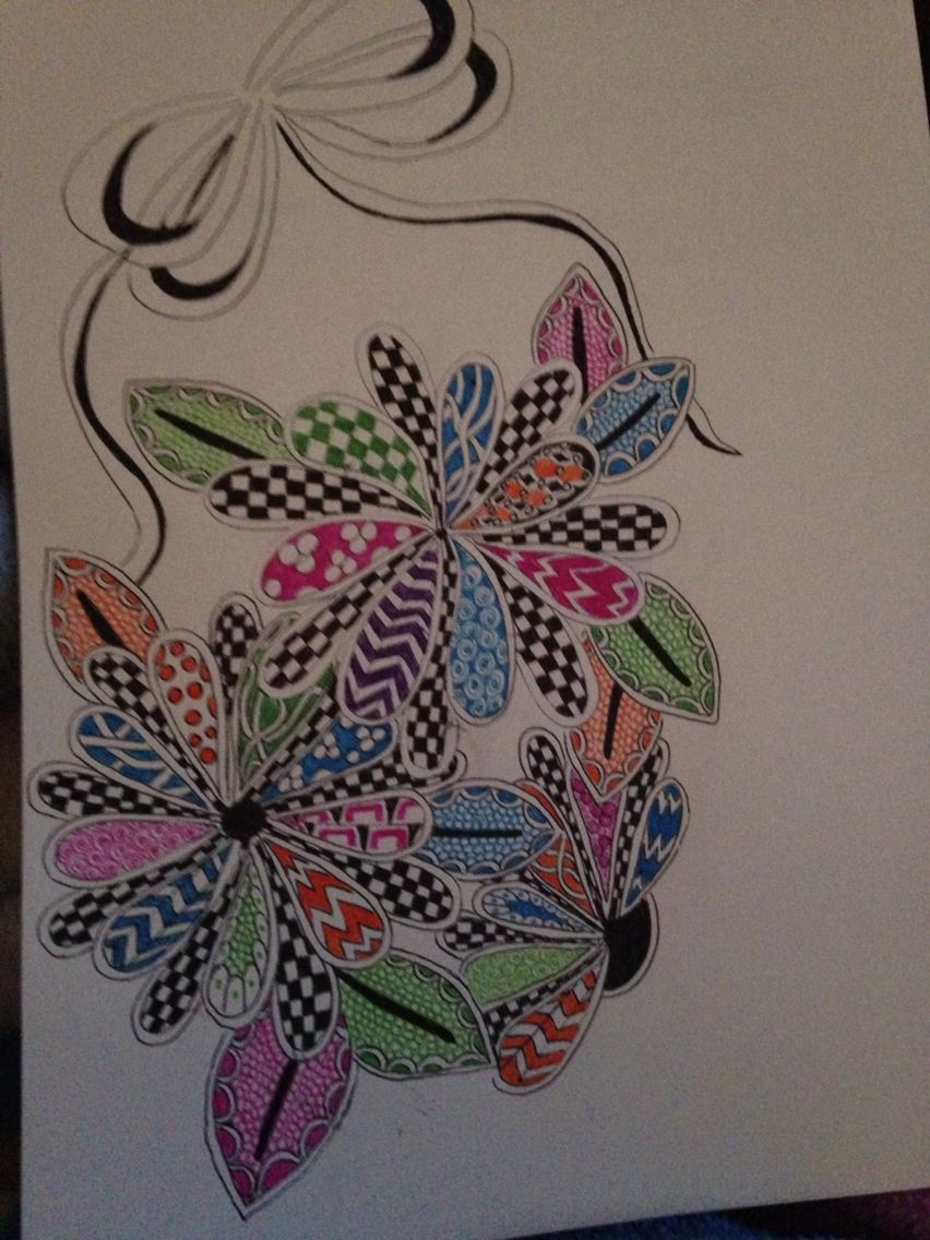 Ink art with a little color by debra lloyd learn to draw