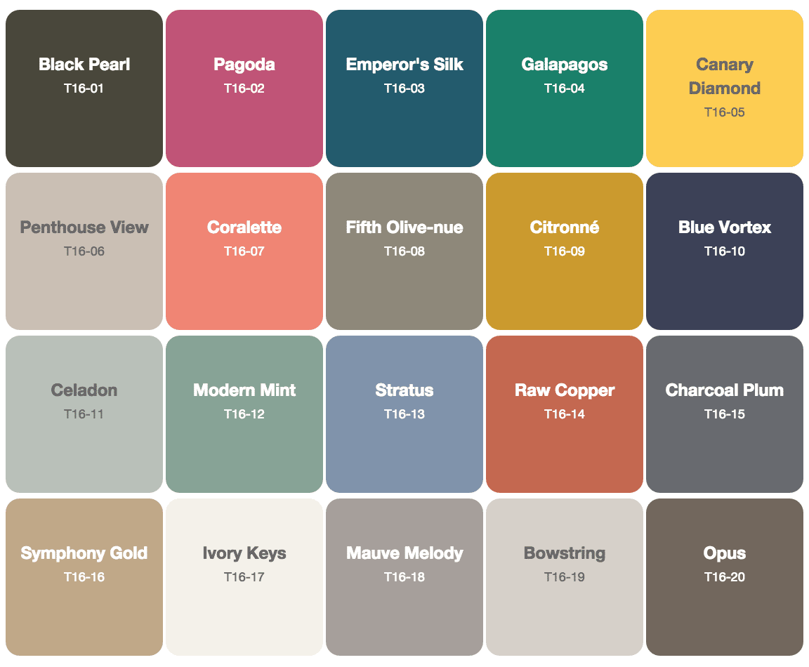 Take a look at the Behr 2016 Color Trends See the top paint colors for 2016 and gorgeous inspiration for your decorating color palette.