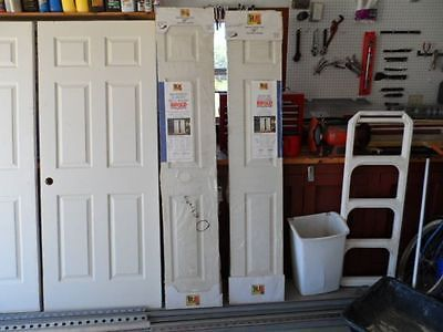 Doors 85892: 2 Reliabilt 80X30 Bi-Fold Closet Door Six Panel Solid Wood Primed & Doors 85892: 2 Reliabilt 80X30 Bi-Fold Closet Door Six Panel Solid ... Pezcame.Com