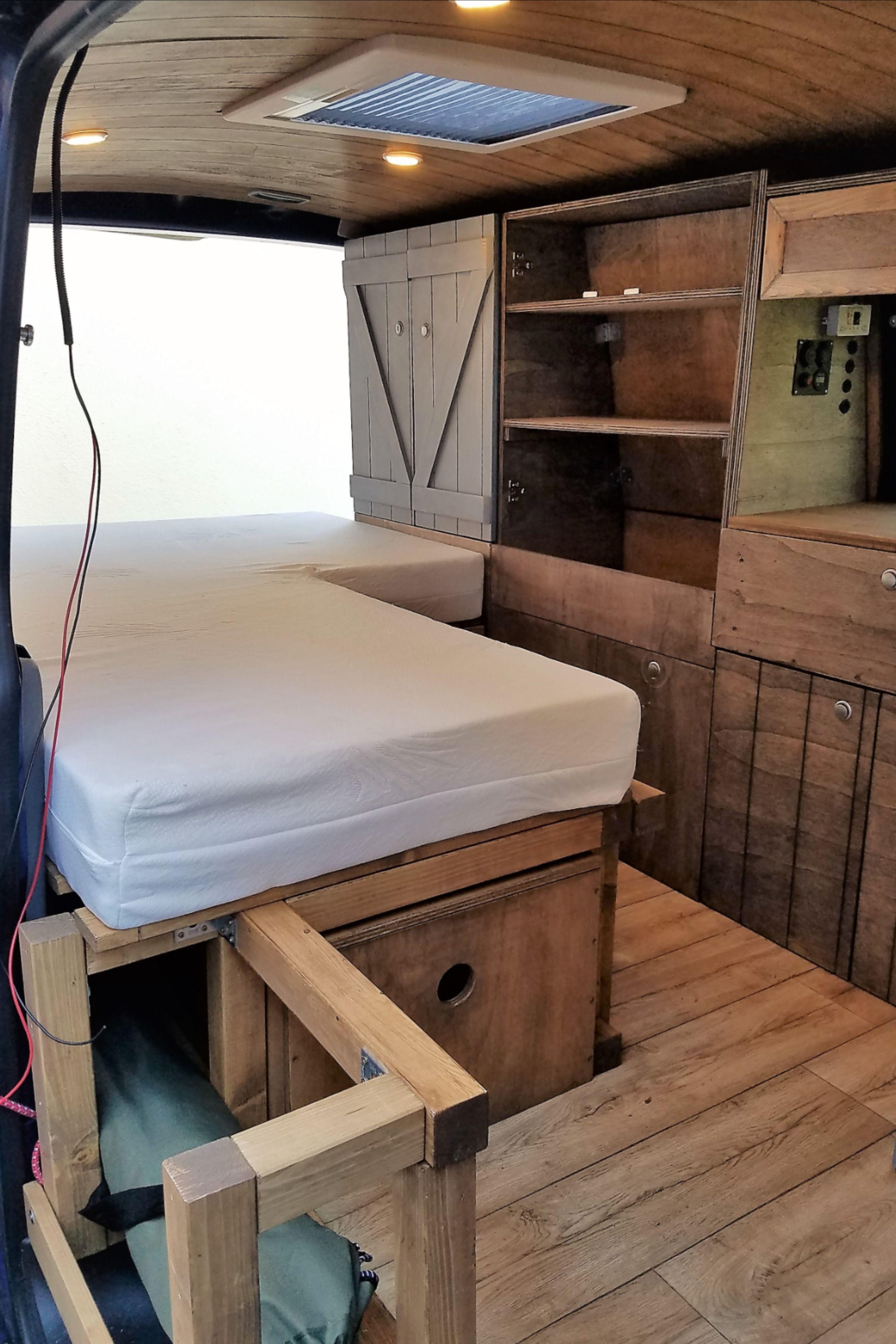 Photo of Ein Bett in den Camper selber einbauen