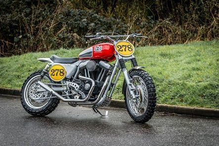 Harley Street Tracker #motorcycles #motos #streettracker | caferacerpasion.com