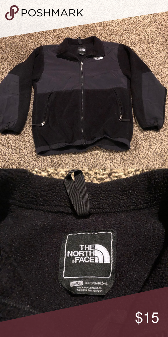 8fdb1e682615 Boys North Face Jacket Boys black North Face jacket. In excellent used  condition. The North Face Jackets   Coats