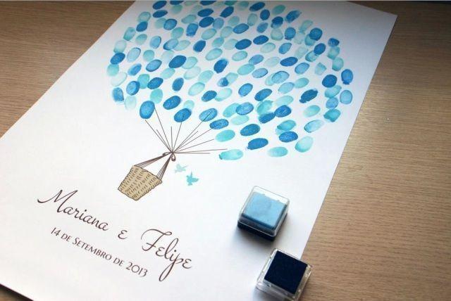 Novidade em casamentos: Árvore de Digitais, um moderno livro de assinaturas (08/10/2013) - Uberlândia - Artigos e Dicas - SeuEvento.Net