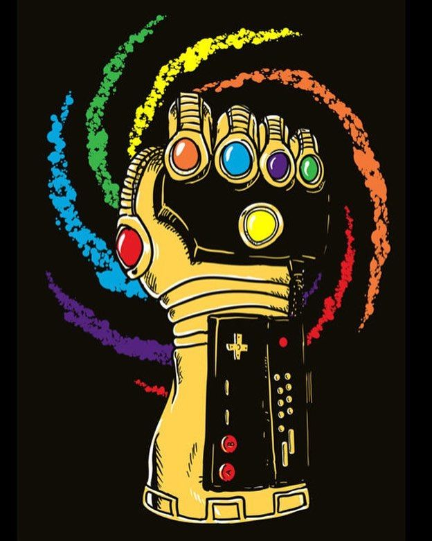 Infinity glove power gauntlet either way everything else is childs play infinitygauntlet