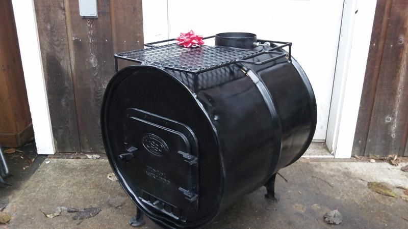 Barrel Wood Stove Kit.   wood stove   Pinterest   Stove ...