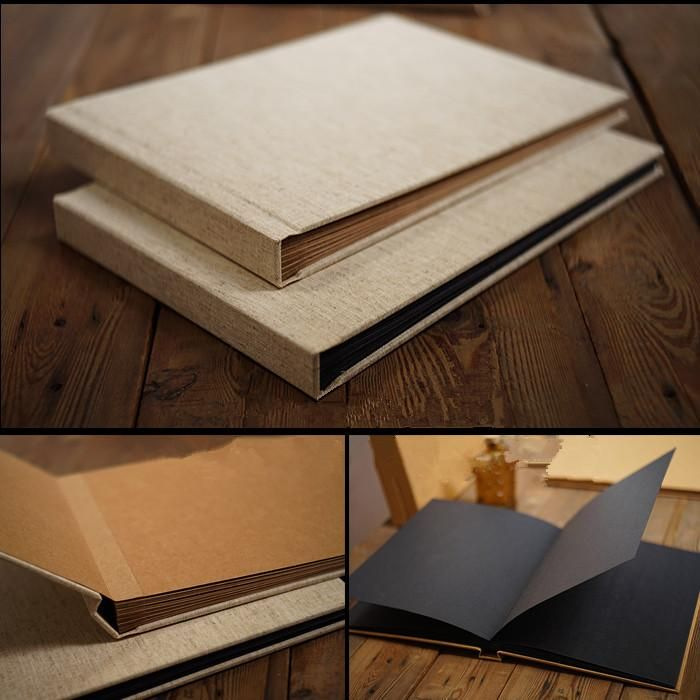 [Visit To Buy] Linen Cover Perfect Binding Exquisite
