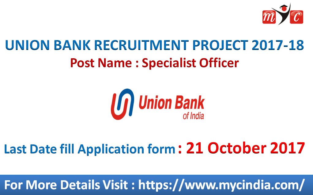 Union Bank Recruitment Project  Specialist Officer Last