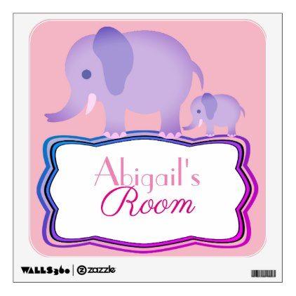 Custom personalized baby name wall sticker baby gifts child new custom personalized baby name wall sticker negle Choice Image