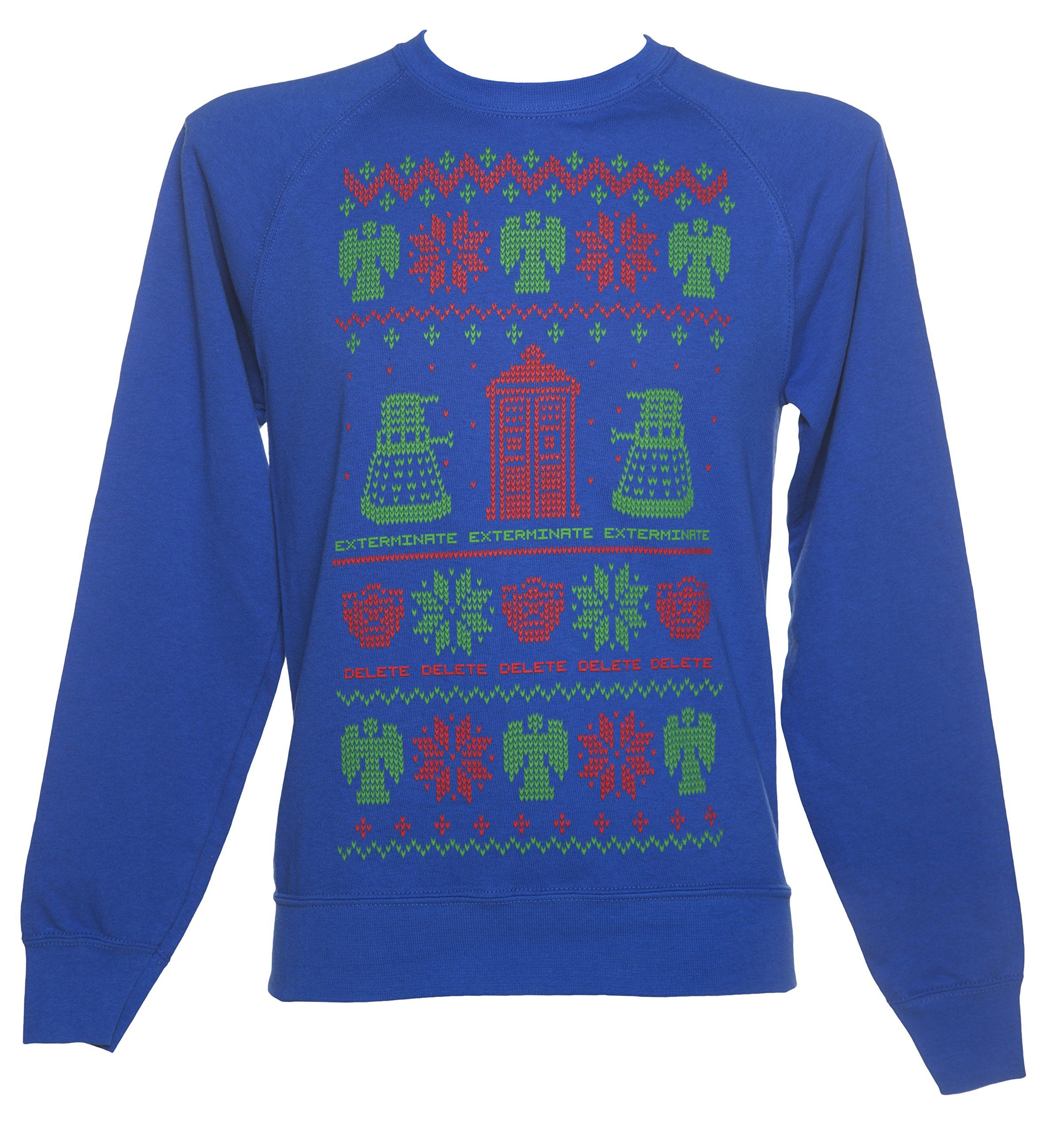 Doctor Who Fair Isle Knit Design Ugly Christmas Sweater | The Best ...