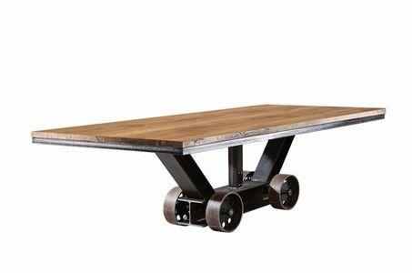 Industriedesign Esstisch Bladewheel rollbar | Идеи для ...