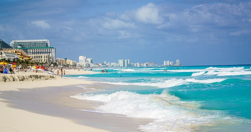 Cancun Is One Of The Top Beach Destinations In The World Located In The State Of Quintana Roo In The Mexican Car Cancun Beaches Cancun Hotels Mexico Vacation