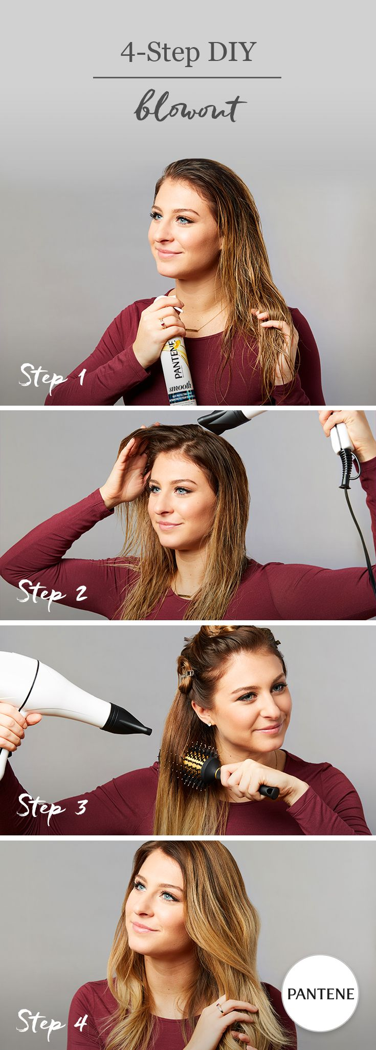 How to Get a SalonQuality Blowout at Home Voluminous