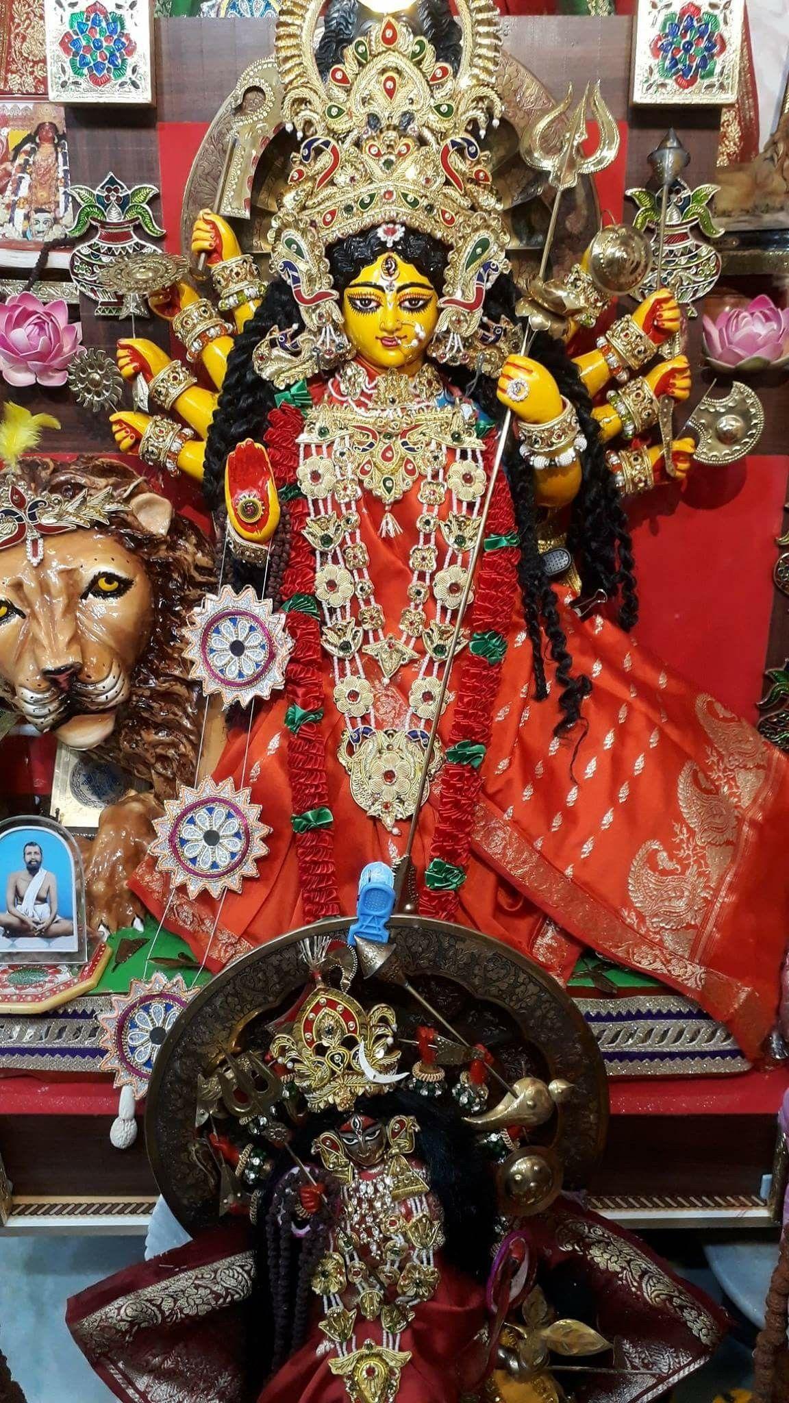 Pin by Bhavesh Katira on Hindu god B in 2019 | Durga puja kolkata