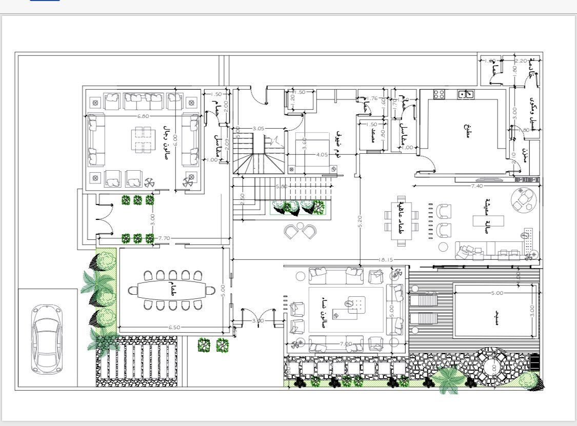 Pin By Moharb On بيت العمر Family House Plans House Map House Layout Plans