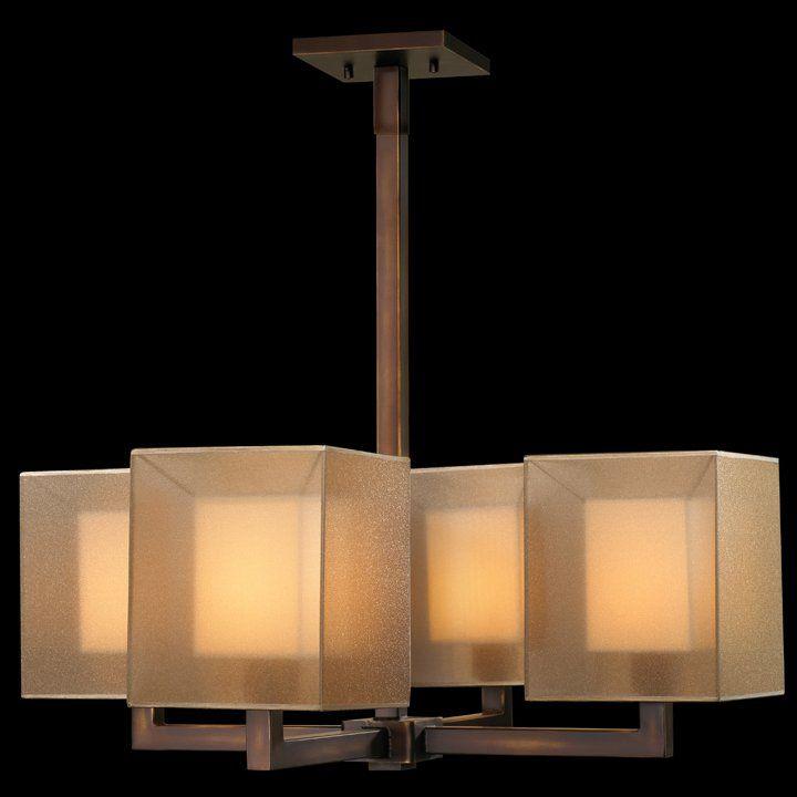 Quadralli 4-Light Drum Chandelier   Lighting   Pinterest   Drum ...