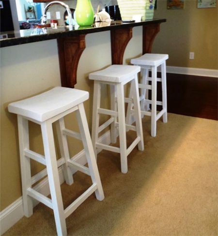Amazing These Curved Top Bar Stools Will Cost Around R120 Each If You Make Your Own. Design Ideas