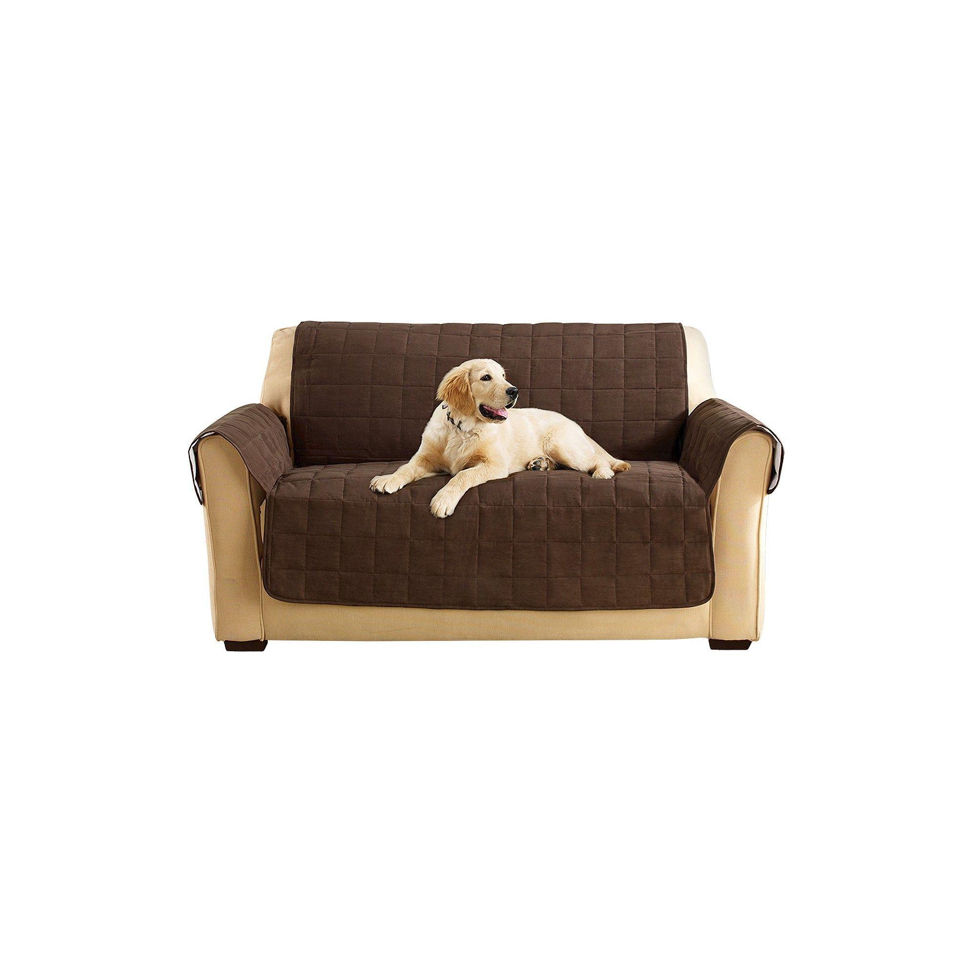 Ultimate Waterproof Suede Loveseat Furniture Cover