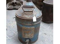 Blue paraffin can