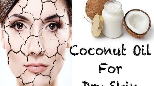 Tác dụng của dầu dừa với da khô